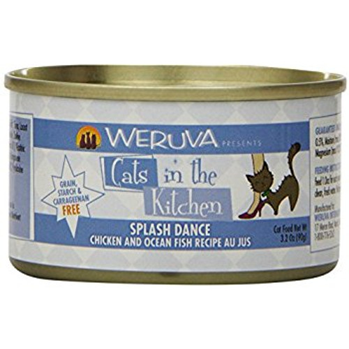 Weruva Cats in the Kitchen Splash Dance Chicken & Ocean Fish 3oz