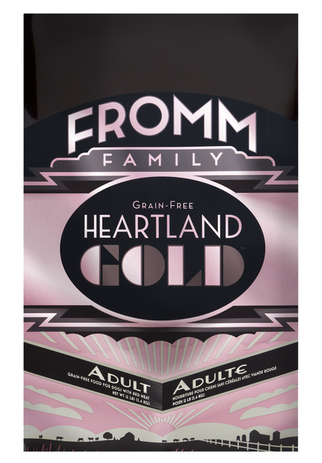 Fromm Heartland Gold Adult Grain Free Dog Entree