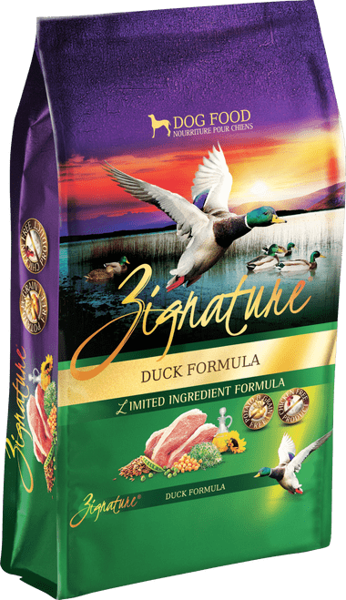 Zignature Duck Formula Limited Ingredient  Dry Dog Food