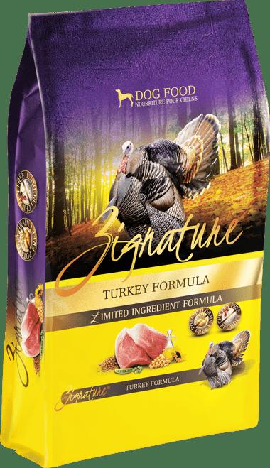 Zignature Turkey Formula Limited Ingredient Dry Dog Food