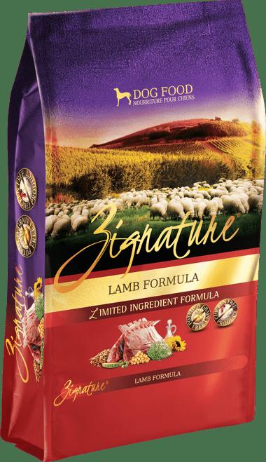 Zignature Lamb Formula Limited Ingredient Dry Dog Food