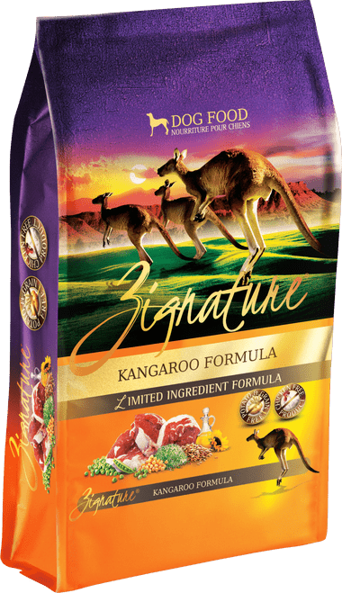 Zignature Kangaroo Formula Limited Ingredient Dry Dog Food