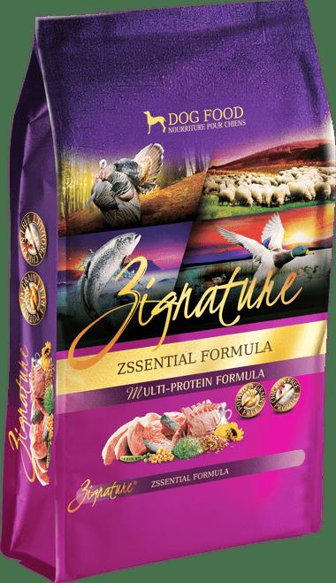 Zignature Zssentials Formula Limited Ingredient Dry Dog Food