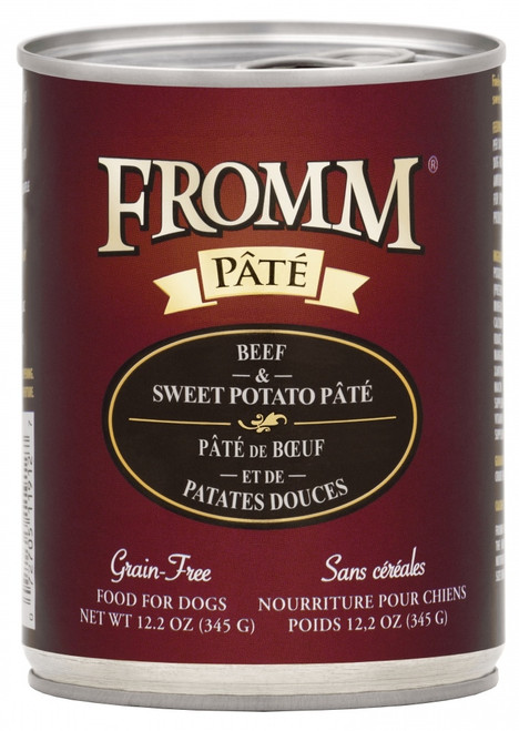 Fromm Grain Free Beef & Sweet Potato Pate