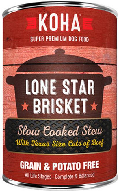 Koha Lone Star Brisket Slow Cooked Stew