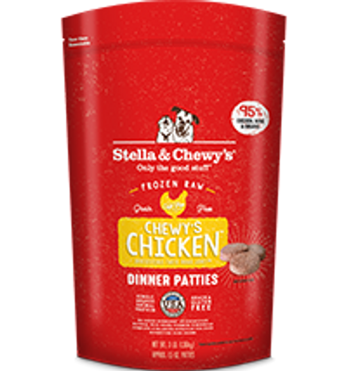 Stella & Chewy's Chewy's Chicken Canine Dinner Patties 6lb