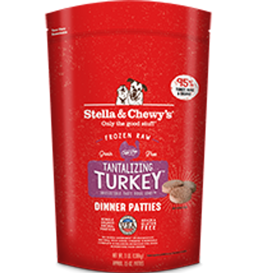 Stella & Chewy's Tantalizing Turkey Canine Dinner Patties 6lb
