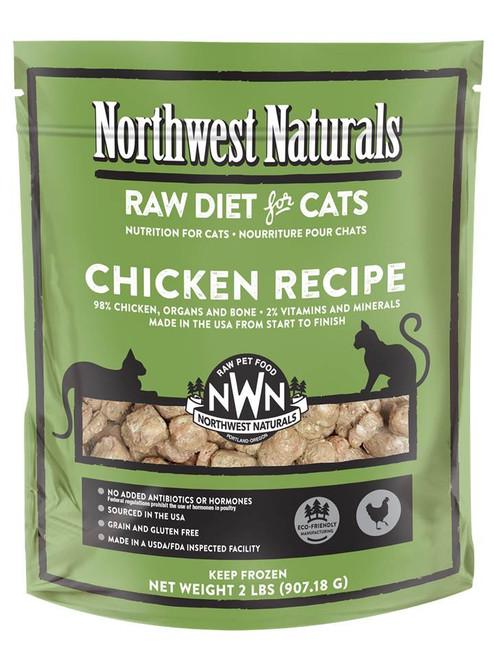 Northwest Naturals Chicken Frozen Raw Feline Diet 2lb