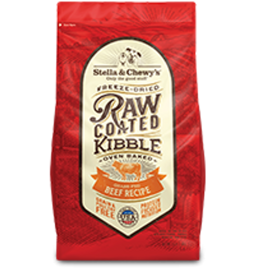 Stella & Chewy's Raw Coated Baked Kibble Grass-Fed Beef Recipe