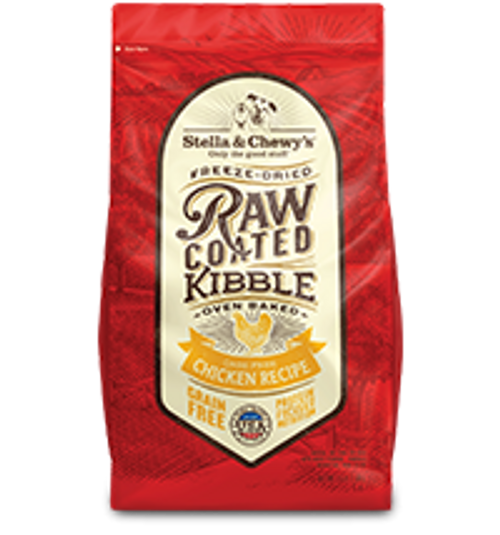 Stella & Chewy's Raw Coated Baked Kibble Cage-Free Chicken Recipe