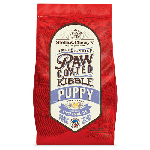 Stella & Chewy's Raw Coated Baked Kibble Cage-Free Chicken Puppy Recipe