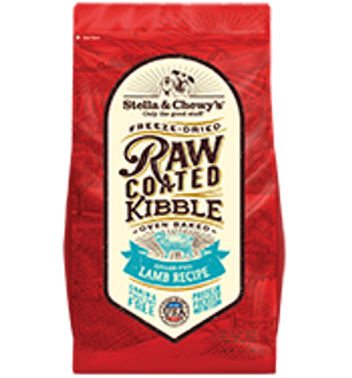 Stella & Chewy's Raw Coated Baked Kibble Grass-Fed Lamb Recipe