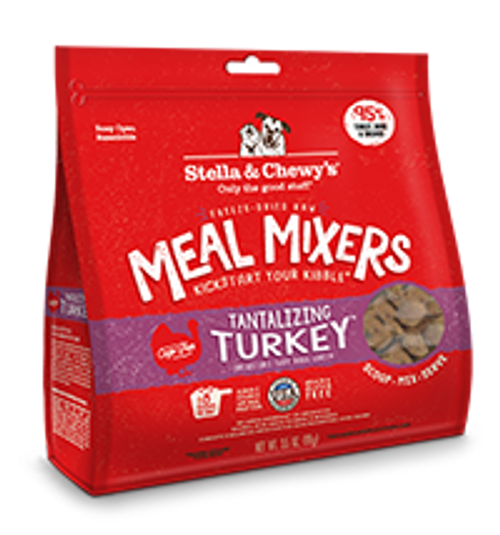 Stella & Chewy's Freeze Dried Meal Mixer Tantalizing Turkey