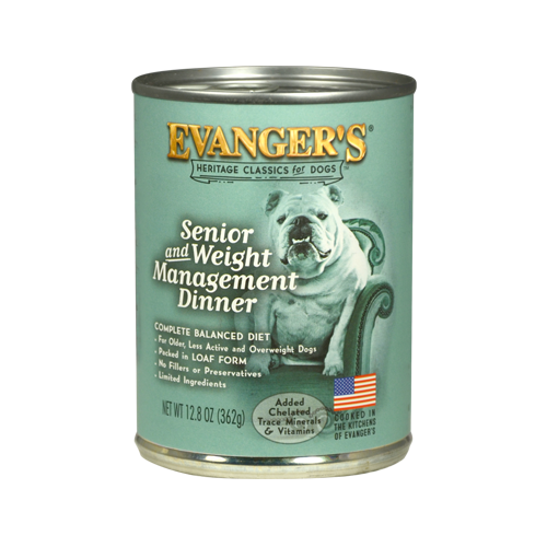 Evanger's Senior & Weight Management Classic Recipe