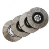 "Diamond Flap Cup Wheel 4""  7/8 hole"