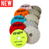 New Venom FLEX 3 Step Diamond Polishing Pads 4inch