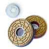 "5 "" Bone Crusher SVEB Flat Polishing Wheels"