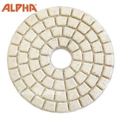 Alpha 4 inch Buff  White