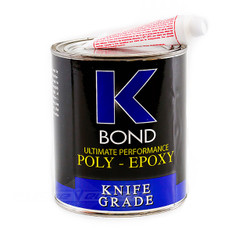 K-BOND 1 Quart Solid Transparent Poly Epoxy Glue