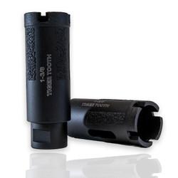 Black Tiger Tooth Diamond Core Drill Bit   - Wet/Dry