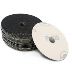Heavy Duty 4 inch Silicon Carbide Sand Paper Hook&Loop    Box of 50