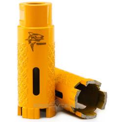 Diamond Core Drill Bit  Yellow Tiburon Wet/Dry -  Made KOREA