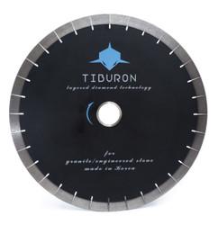Tiburon Black 25 mm Layered diamond