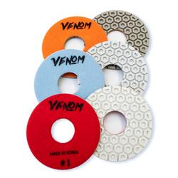 Venom 3 step for Line Polishing/edge machines- 5 inch