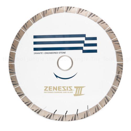 Zenesis White III Diamond Granite Bridge Saw Blade