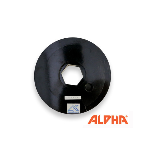 "Alpha Twincur EG-V Hook and Loop backed Smail Lock Adapter 5"",6"""