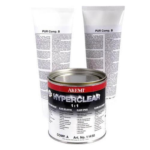 Akemi Hyperclear  1.1 Hybrid Epoxy 1 quart
