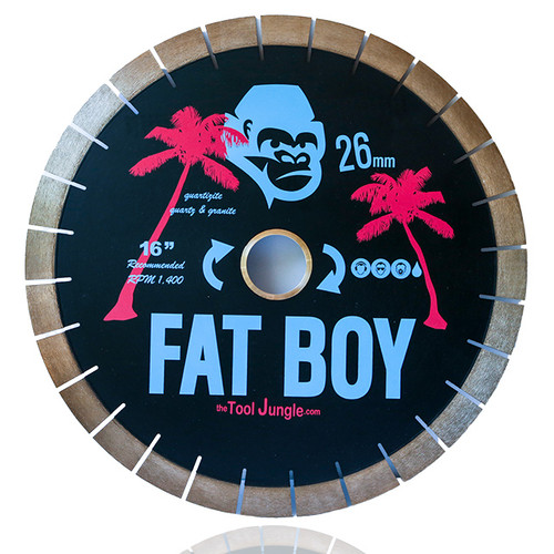 Fat Boy 26 mm Layered Diamond Bridge Saw Blade