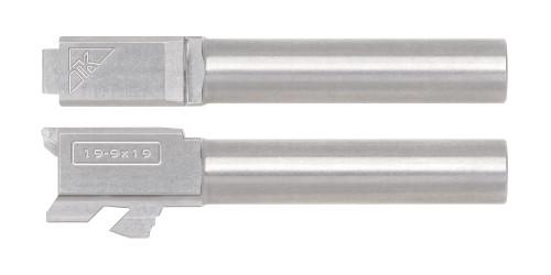 G19 Non-Threaded Barrel - Stainless Steel - Engraved