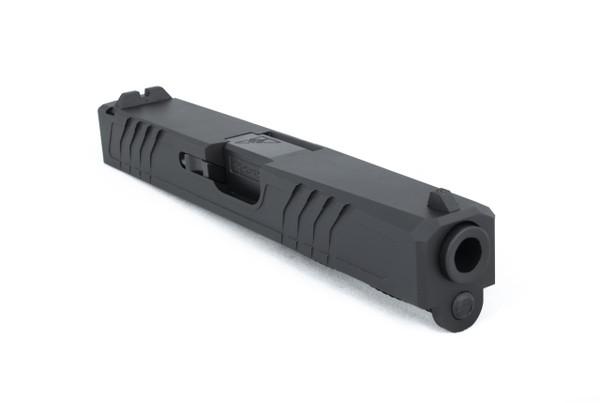 G19 Glock Slide Assembly Non-Threaded & Engraved Barrel