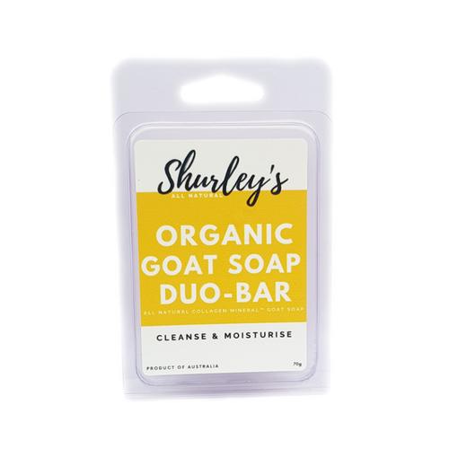 Organic Goat Soap Duo Bar