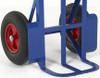 Heavy Duty Rough Terrain Sack Truck with Pneumatic Wheels - 350kg Capacity