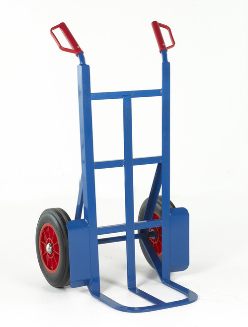 Industrial Rough Terrain Sack Truck with Solid wheels - 350kg Capacity