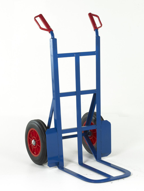 Rough Terrain Sack Truck with Deep Toe and Solid wheels - 350kg Capacity