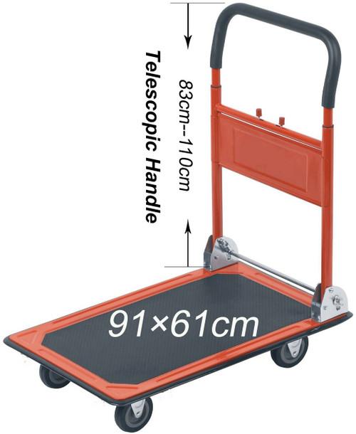 BRISTOL TOOL COMPANY  PLATFORM TRUCK - 300KG CAPACITY