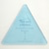 Equilateral Triangle Acrylic Template