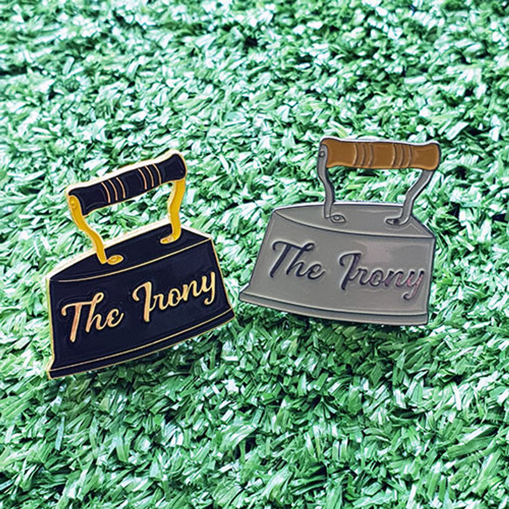 Enamel Pin - The Irony (Black)
