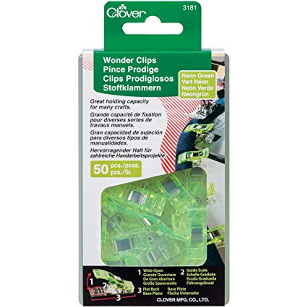 Wonder Clips (50 Pack) - Green
