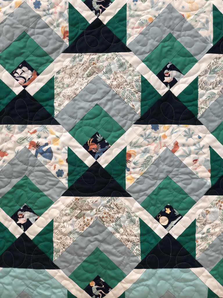Snow Cabin Pattern