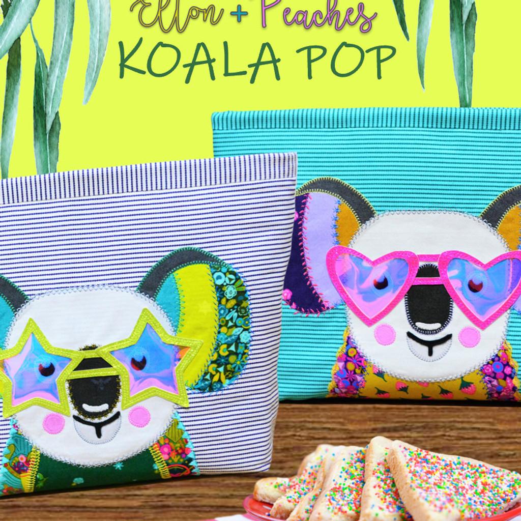 Koala Pop - Applique Pattern