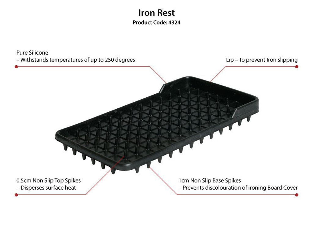 Silicone Iron Rest