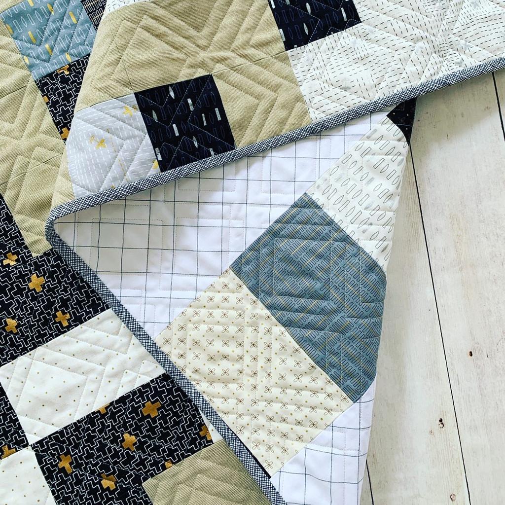Big Blocks Quilt Pattern