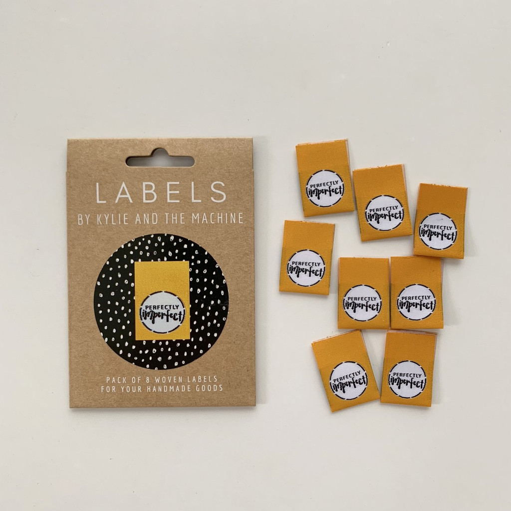 Woven Label - Perfectly Imperfectly