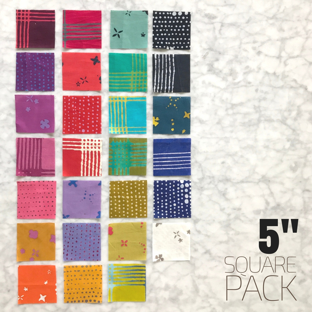 "Chroma - 5"" square pack"