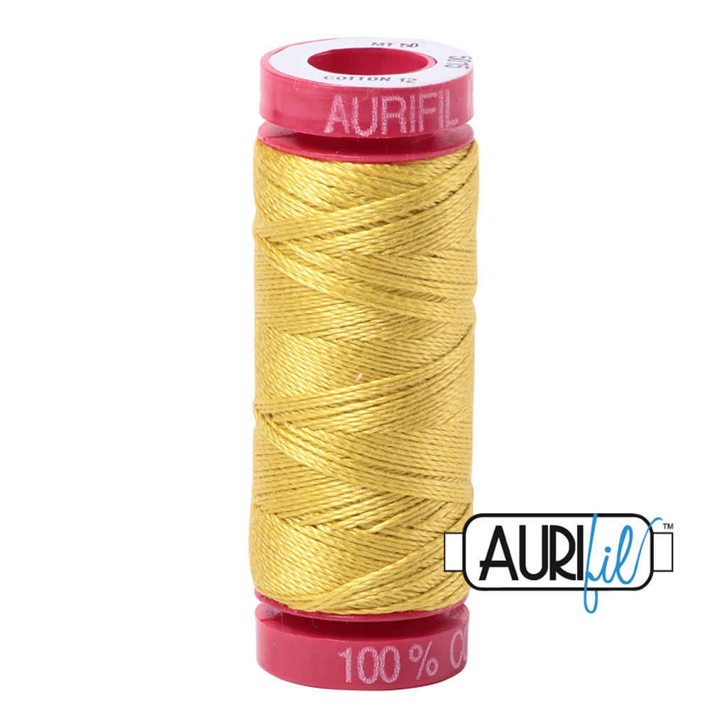 Mako Cotton 12wt 50m - 5015 (Gold Yellow)