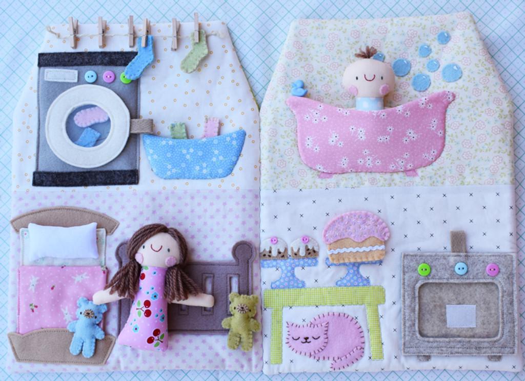 Happy House Pattern